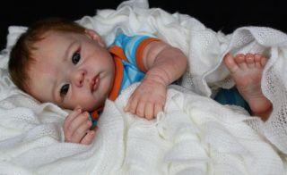 Ihr Wunschbaby Reborn Newborn Baby Bethany by Linda Murray Bauchplatte