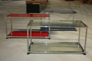 Original USM Haller Fach Regal Glas böden Tisch Vitrine Schrank Vitra