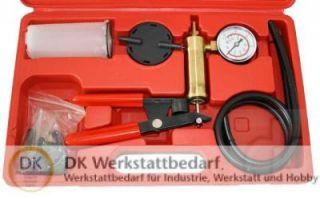 Bremsen Hand Vakuum Pumpe Entlüftung Bremsflüssigkeit