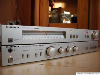 Telefunken Stereo Anlage Verstärker Amplifier RA 100 Tuner Radio RT