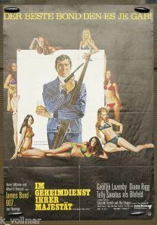 Original Filmplakat James Bond 007 Im Geheimdienst