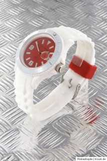 Nele Fortados Uhr Herren Damen Unisex Silikon Armbanduhr Original Neu
