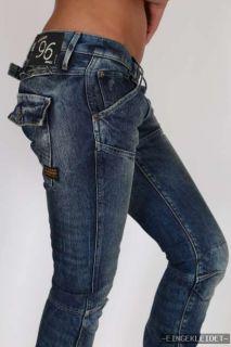 Star RAW Elwood 5620 tapered Damen Jeans Hose GR. W L 25 26 30 31 32