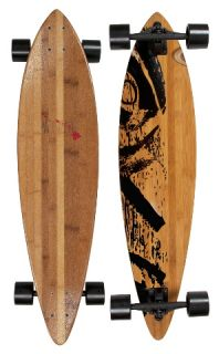 Komplett Longboard Bambus Area und Mike Jucker Hawaii