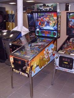 Fish Tales, Williams Pinball machine, Flipper Flipperautomat, F738
