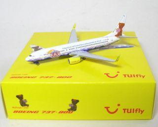 Boeing 737 800 TUIfly 100 Jahre Bärenmarke