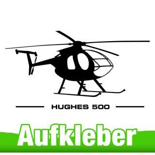 Hughes 500 Aufkleber
