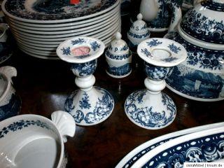 Villeroy & Boch Tafel Service Porzellan 48 tlg. Blue Castle