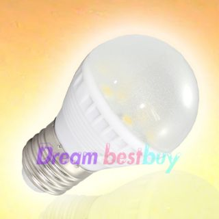 E27 Warm White 5050 SMD 12 LED Light Bulb Lamp 110~240V