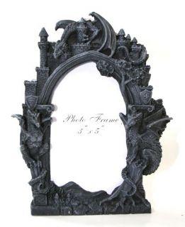 Drachen Bilderrahmen Drache Gothic Fantasy 766 5920