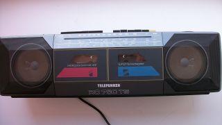 Telefunken Stereo Radio Kassetten Recorder RC 760 TS