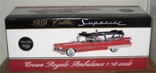 Precision Miniatures Sunset Coach 1959 CADILLAC SUPERIOR CROWN ROYALE