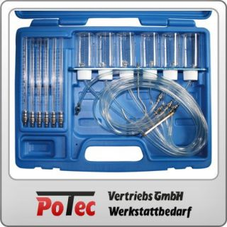 Common Rail Motoren Werkzeug Diesel Tester Injektor Rücklaufmenge