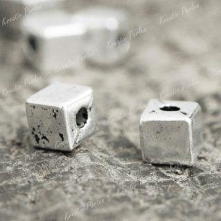 150 Tibet Silber Würfel Perlen Spacer Beads Perle TS778