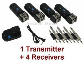 Wireless Radio Remote Flash Trigger Control 4 Receiver