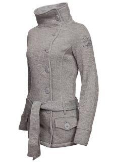 Eight2Nine Damen Strick Jacke by Fresh Made Fleecefutter Innen SALE