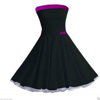 50er Jahre Tanz Kleid zum Petticoat Rockabilly