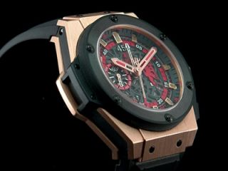 Hublot King Power Red Devil Manchester Roségold !! NEU !!