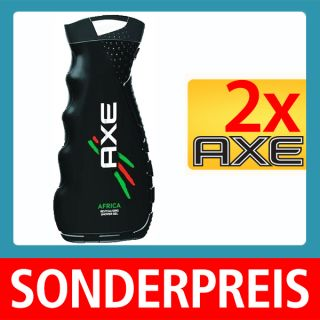 Axe Duschgel, Axe Showe Gel, Axe Africa 2x400ml800ml