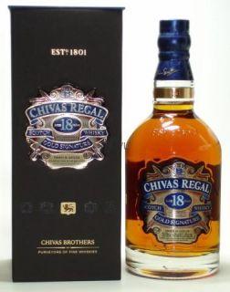 Chivas Regal 18 Jahre   Years Premium Scotch Whisky NEU