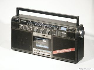 TELEFUNKEN RC760 STEREO RADIORECORDER GHETTOBLASTER BOOMBOX RADIO