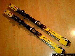 Atomic 9.16 Beta Race Carving Ski mit Bindung 120cm gelb mit Bindung