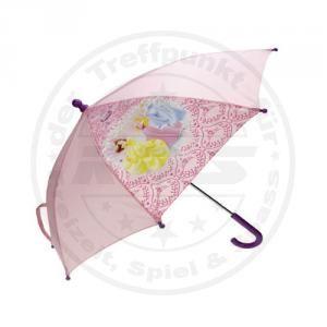 Kinder Regenschirm Disney Princess Prinzessin Schirm Rosa Lila mit