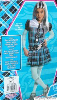 Monster High Frankie Stein Kostüm Deluxe Large mit Schuhüberzieher