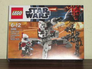 LEGO Star Wars   Set 9488 ARC Trooper & Commando Droid Battle Pack