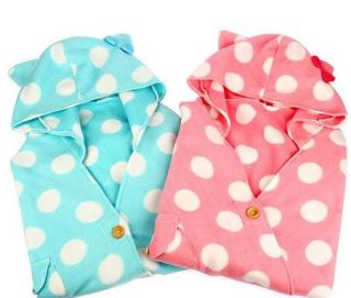New Cosplay Japanese Baby Emo Kitty Kitten Cat Bear Polka Dot Top