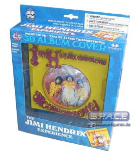 3D Album Cover Jimi Hendrix Are You Experience McFarlan