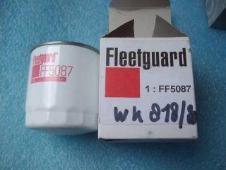 Kraftstofffilter Fleetguard FS5087 Mann WK 818/80 Neu