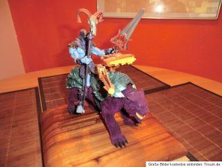 Masters of the Universe MOTU 200x Skeletor + Panthor   Sammlerfigur