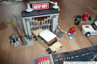 Lego Studios Spider Mans erste Verfolgungsjagd (4850)