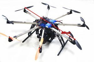 STO S 802 Octocopter Super Combo w/ Control Board Built in Gimbal for