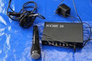 Dachbodenfund   Mikrofon   K Box Sunfly SFA Adapter