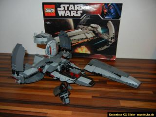 Lego Star Wars Sith Infiltrator 7663 (7151) Darth Maul Figur 100% mit
