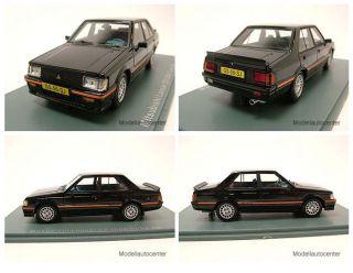 Mitsubishi Lancer EX 2000 Turbo 1981 schwarz, Modellauto 143 / Neo