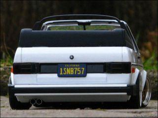 18 Tuning VW Golf 1 US Cabrio + HTN Echtalu Felgen