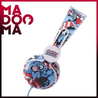 COLOUD MARVEL Captain America Kopfhörer Amerika NEU