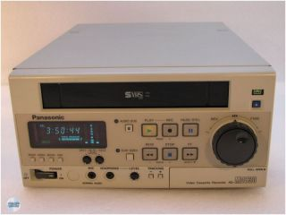 PANASONIC AG MD 830 E S VHS Video Recorder DEFEKT (EU SHOP)