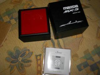 Sinn Mazda MX 5 Uhr Automatik Armbanduhr Sammlerstück 1/500 OVP