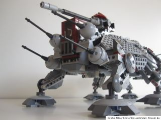 Lego Star Wars 7675 AT TE Walker komplett mit Bauanleitung, Figuren