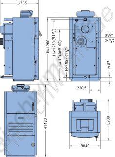 Buderus Holzvergaser S161   18 / Logamatic 2114 (817)