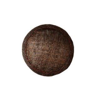 Base 10cm Sinamay HB007   For fascinators, hats & craft use.