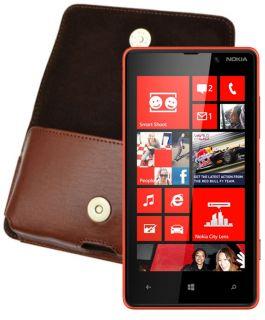 Nokia Lumia 820   Handytasche Case Quertasche Hülle Tasche