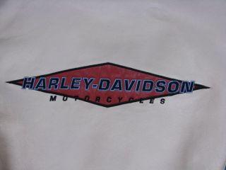Org. Harley Davidson Oldschool Leder Jacke Größe Herren M Damen L