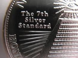 oz Silber Silver Silbermünze New World Order   Weltordnung   NEU