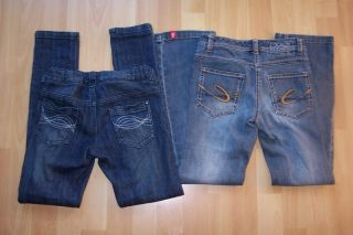 2x Jeans Paket Röhre Bootcut YIGGA & ESPRIT gratis 140