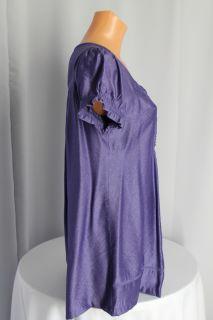 Edle Tunika,Bluse,Leichtschimmernd,Häckelspitze ver.Farben Größe:M
